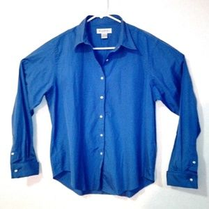 Brooks Brothers Blue Shirt Knot Buttons